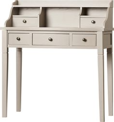 Sevan Writing Desk With Hutch Writing Desk Desks And