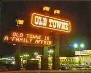 Old Towne Mall in Torrance, California