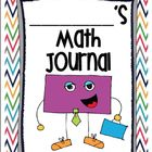 This Math Journal has been developed to help first grade students practice skills found within the Common Core Math Standards.   This Math Journal ...