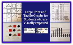 Tips on making large print and tactile graphs for students who are blind or visually impaired