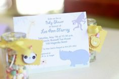 CUTE BABY ANIMAL THEME FOR A BABY SHOWER