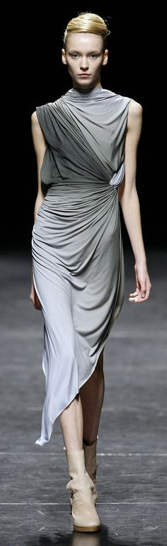 Haider Ackermann at Paris Spring 2009