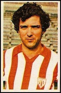 Villar. Athletic Club de Bilbao. Cromos Ruiz Romero. Temporada 1976-77.