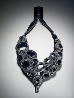 Kate Cusack | Zipper Jewelry: Necklaces