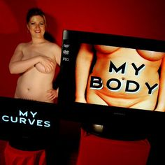 STOP HATING AND START LOVING!  Join the Mozaïk Curves project,  Positive Body Image !