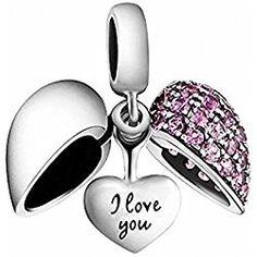 Choruslove Openwork Ocean Breeze Charm 925 Solid Sterling Silver Bead for Bracelet Jewelry