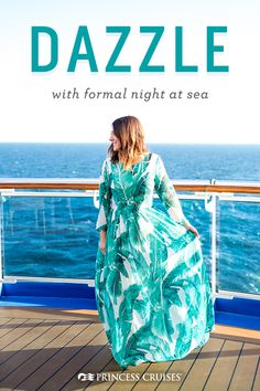Cruise packing essential: Make a statement on formal night. Cruise Dress, Cruise Outfits, Cruise Wear, Packing For A Cruise, Cruise Travel, Cruise Vacation, Cruise Tips, Cruise Formal Night, Travel