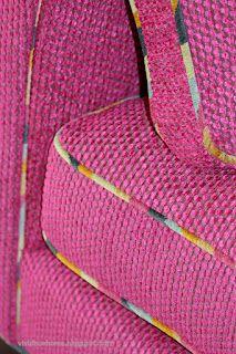 Highland court confetti contrast welt with Designer's Guild