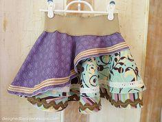 Shabby Chic Circle Skirt