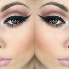 That is a bomb winged liner!