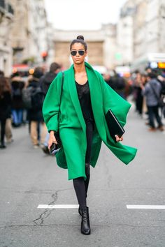 Street Style -Paris Fashion Week -Haute Couture Spring/Summer 2018