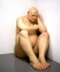 Ron Mueck  Big Man, 2000,