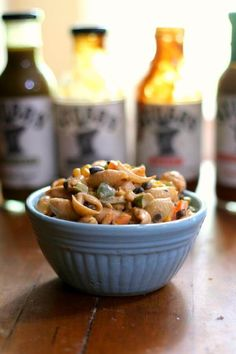 BBQ Macaroni salad i