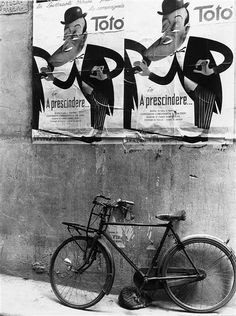 by Vincenzo Balocchi    A bicycle. 1950s