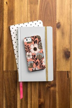 Gabriela Fuente Maxi Floral Cell Phone Case | DENY Designs Home Accessories