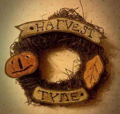 Harvest Tyme   Primitive Handmades Mercantile