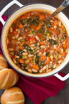Mediterranean Kale, Cannellini and Farro Stew Recipe on Yummly. @yummly #recipe