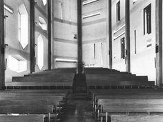Gio Ponti. Santa Maria Annunciata Church, Milan. 1963-1969.
