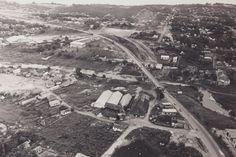 Vista aérea da Ponte Presidente Dutra sobre o igarapé de São Raimundo, ligando os bairros São Raimundo e Santo Antônio, zona Oeste de Manaus. Acervo: Hamilton Salgado.
