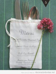 DIY Menu Inspiration :: great idea for a wedding menu Wedding Menu, Rustic Wedding, Our Wedding, Dream Wedding, Wedding Beauty, Wedding Cutlery, Wedding Decor, Flyer Inspiration, Wedding Inspiration