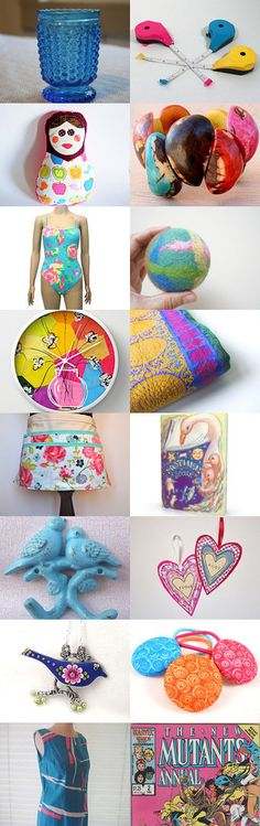Feeling the blues by Elizabeth Scheffler on Etsy--Pinned with TreasuryPin.com Blues, Feelings, Etsy, Color, Colour, Colors
