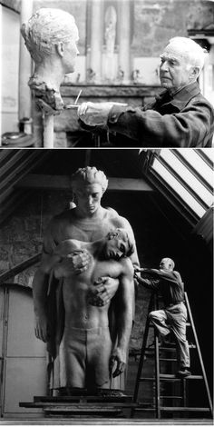 Walker Hancock, American sculptor and teacher. One of the Monument Men in WWII.