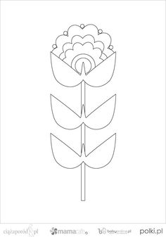 Embroidery Pattern from polki.pl No Link. jwt