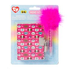 2f451b415ee Ty Beanie Boos Mini Lock Diary with Pen Beanie Boo Dogs