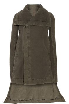 RICK OWENS Padded cotton jacket $608 http://www.theoutnet.com/products/680807