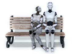 """Check out the Second Life Pic of the Day, """"Droid Love"""", photo by  Strawberry Singh."""