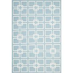 Martha Stewart Rugs™ Square Dance Rectangular Rugs – Geyser Blue - jcpenney