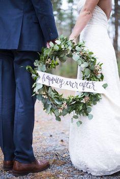 Southern Winter Wedding Inspiration - Rustic Wedding Chic