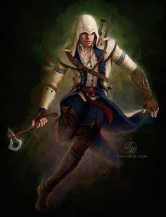 Connor Kenway - Assassin's Creed 3 by Celtran.deviantart.com