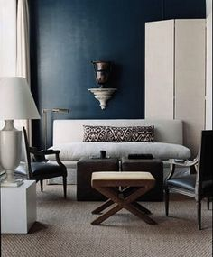 reinventing blue  My favorite Benjamin Moore paint colors are Polo Blue, Blackberry Punch, Kensington Blue, Blue Gaspe, Hale Navy, and Old Navy. Some deep blue colors are: sapphire, azure, beryl, cerulean, cobalt, indigo, navy, royal, midnight blue, slate