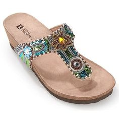 White Mountain sandals  --  gorgeous! I have these and they are my favorite shoes!!