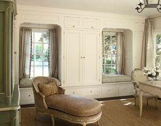 Great storage and window seats