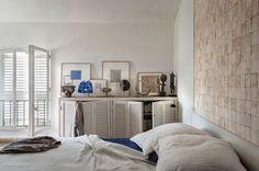 Les tons clairs se juxtaposent dans la chambre - La nouvelle déco bord de mer - CôtéMaison.fr