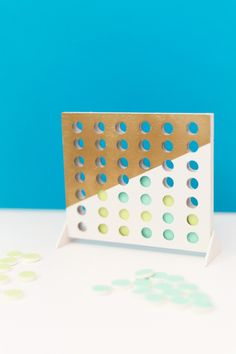 How to make a DIY Connect Four Game for game night!