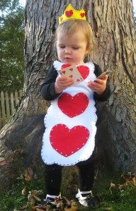 QueenHearts toddler costume tutorial