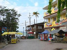 Boqueron Puerto Rico. Visited the streets of Boqueron. At night is where the party is at. Drinking dancing music food. Great atmosphere for a night out.