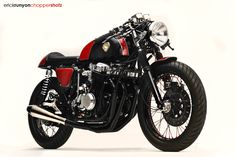 Racing Cafè: Honda CB 750 1978 Cafè Racer by Dime City Cycles