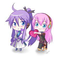luka and gakupo - Vocaloid