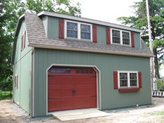We love this customized garage. What do you think?