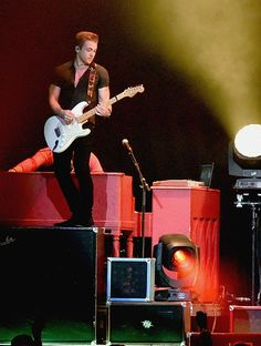 Singer/Songwriter Hunter Hayes performs during the sold out Lady Antebellum Wheels Up 2015 Tour at Bridgestone Arena on September 11 2015 in...