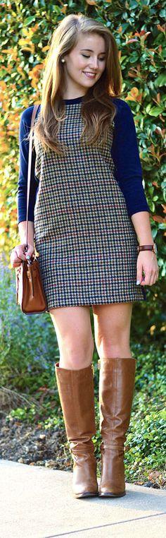 J.Crew kids dress! So classy! Looks like she is attending a prestigious university