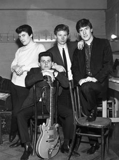 The Searchers by Paul Berriff The Searchers Band, Sound Of Music, Good Music, Gerry And The Pacemakers, 60s Music, Rock And Roll Bands, Pop Rock, British Rock, British Invasion