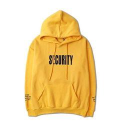 Security Hoodie Security Sweater Security Jacket Security Pullover Justin Bieber Hoodie Purpose Tour Hoodie Yeezus Hoodie TLOP Vaporwave Lit