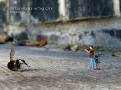 Living in a large city can be overwhelming — people can often feel lost amongst so many, and this feeling is perfectly conveyed in the brilliant photography of Little People in the City. This hardcover tome represents a collection of photographs from street artist Slinkachu, who for the last several years has photographed and then left tiny hand-painted figurines all around London — and has chronicled his work in a terrific blog. A perfect book for your coffee table.