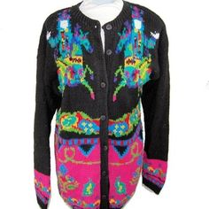 Ride a Painted Horse - Shaman Sweater XL cardigan (NG249) #Unbranded #Cardigan