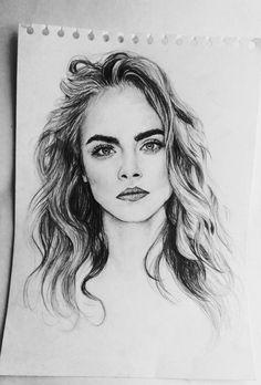 Imagen de drawing, model, and art